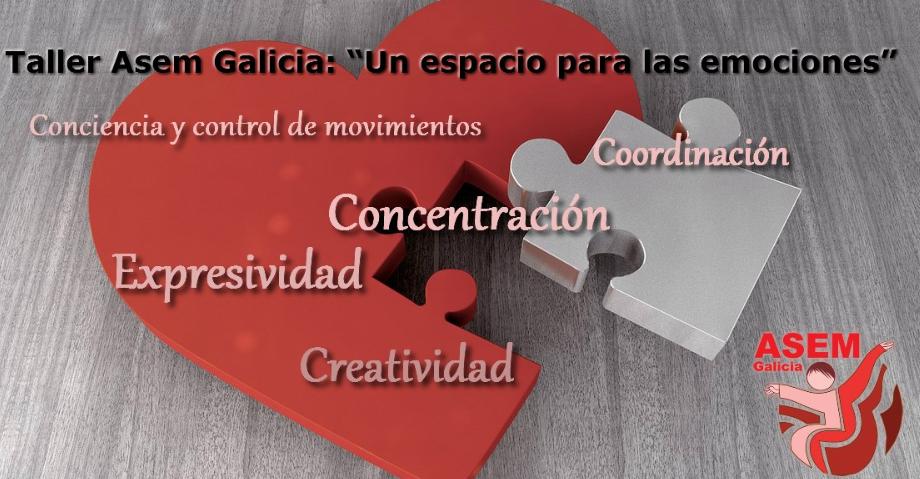 Taller un Espacio Para las Emociones Asem Galicia