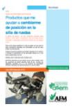 Manual infrormativo de producto de apoyo para cambiar de posición en la silla de ruedas. Abre en ventana nueva