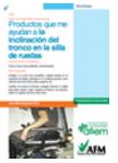 Manual infrormativo de producto de apoyo para inclinar el tronco en la silla de ruedas. Abre en ventana nueva