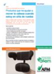 Manual infrormativo de producto de apoyo para mover la cabeza en la silla de ruedas. Abre en ventana nueva