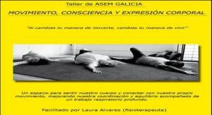 Taller movimiento, consciencia y expresión corporal