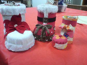 Manualidades de navidad Asem