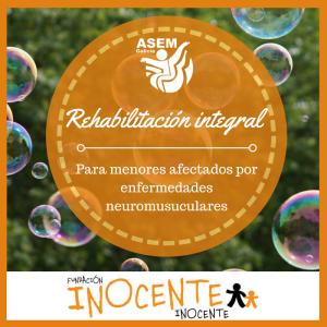 Proyecto rehabilitación integral para menores Asem Galicia Fundación inocente